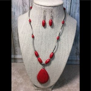 Paparazzi necklace in Red